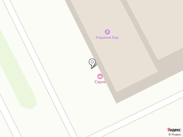 Омега на карте Нижнего Новгорода