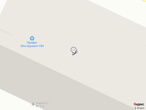 Italon на карте Нижнего Новгорода