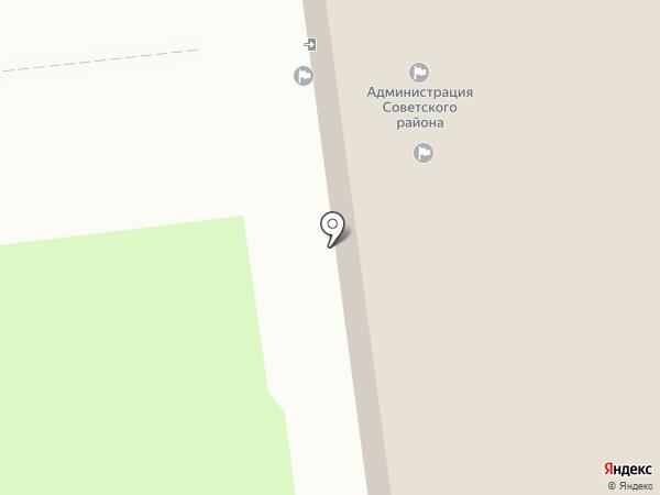Администрация Советского района на карте Нижнего Новгорода