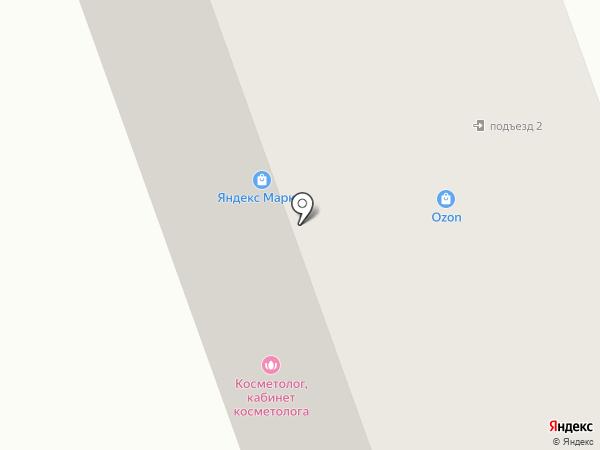 Парк Горького на карте Бора