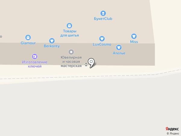 Сомбас на карте Нижнего Новгорода