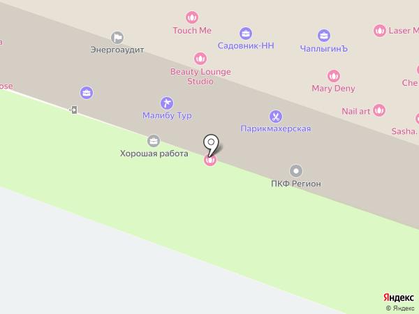 НАФТА на карте Нижнего Новгорода