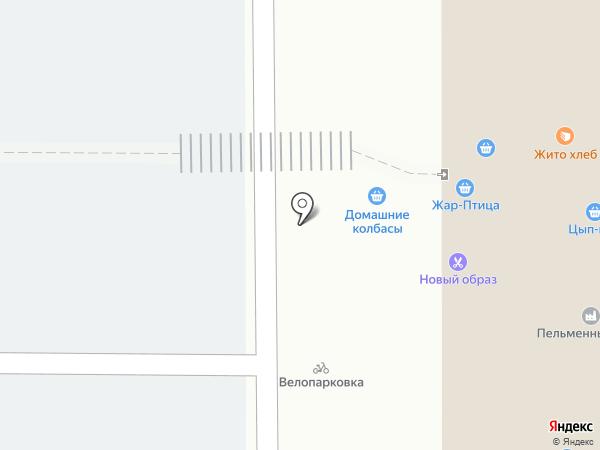 Магазин кондитерских изделий на карте Нижнего Новгорода