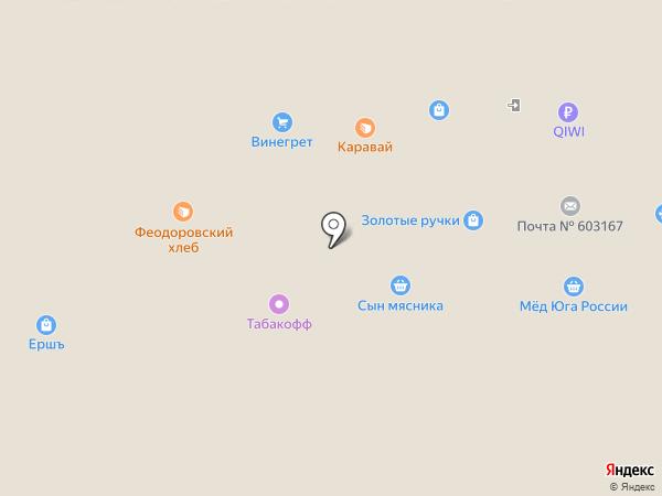 Илагро на карте Нижнего Новгорода