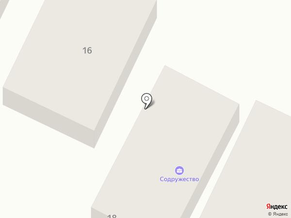 Содружество на карте Бора