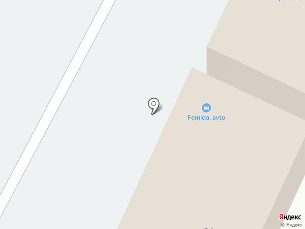 ПРАВОВИК на карте Бора