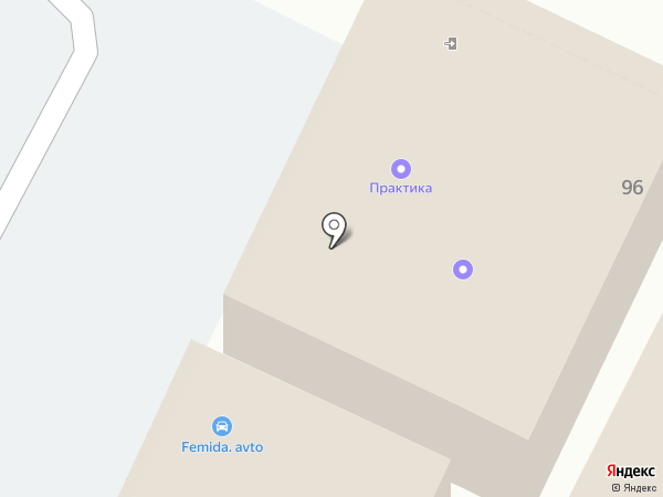 Радуга на карте Бора