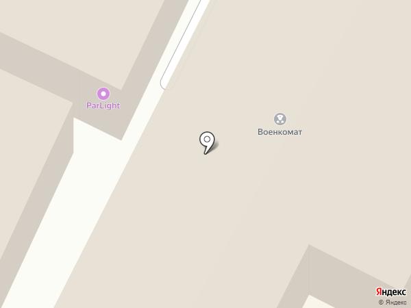Отдел Военного комиссариата Нижегородской области по городскому округу г. Бор на карте Бора
