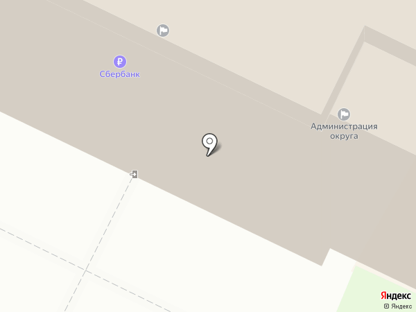 Совет депутатов городского округа г. Бор на карте Бора