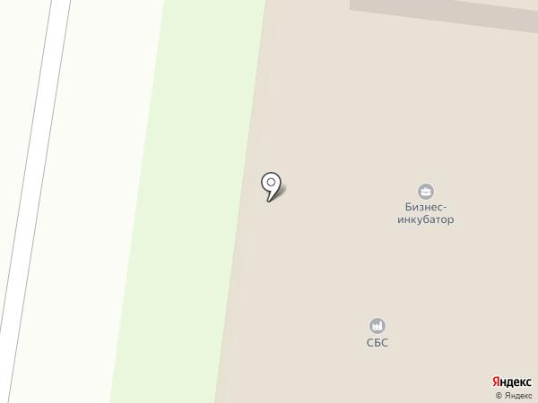 Борский бизнес-инкубатор на карте Бора