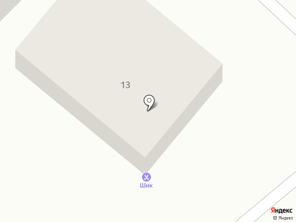 Шик на карте Бора