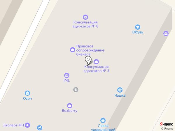 БиК на карте Бора
