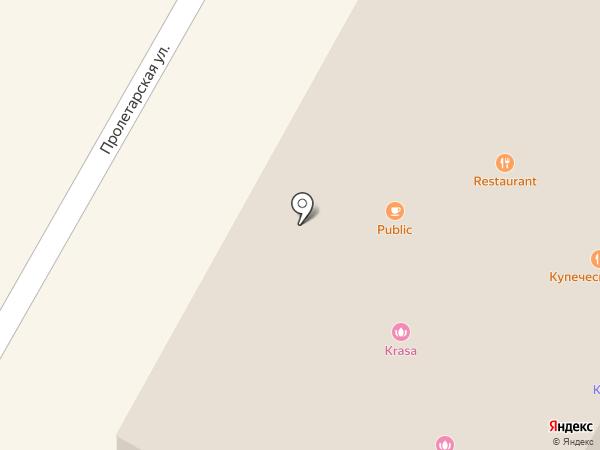 Купеческий клуб на карте Бора