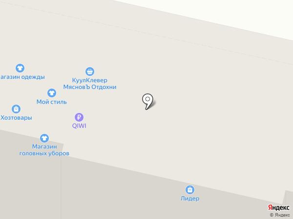 Алёнка на карте Нижнего Новгорода