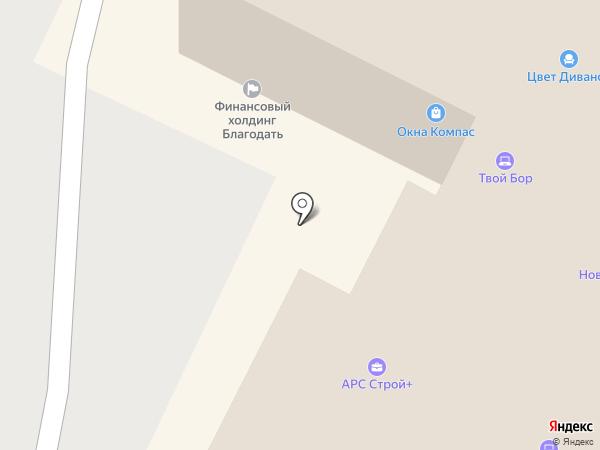 Вс Пласт на карте Бора