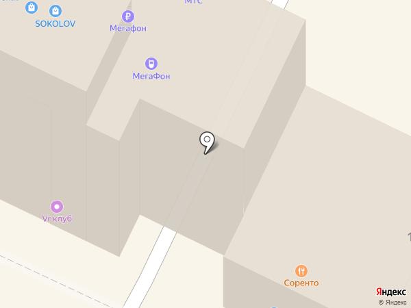 MOKKO lounge & funk music hall на карте Бора