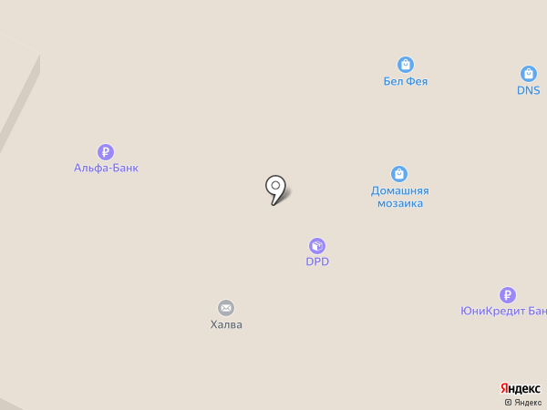 Элком на карте Бора