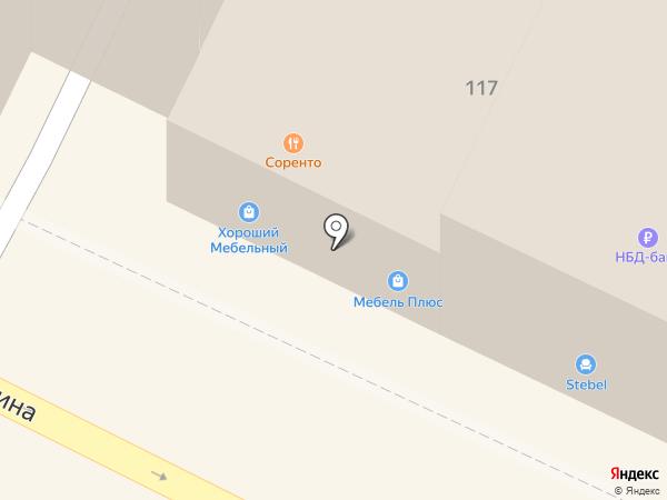 Полцены на карте Бора