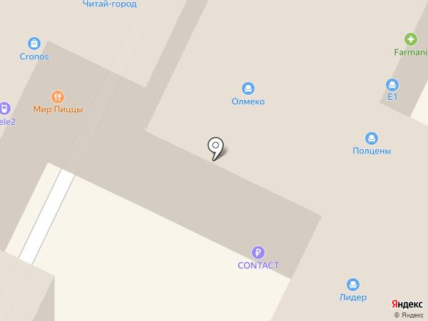 Роникон на карте Бора