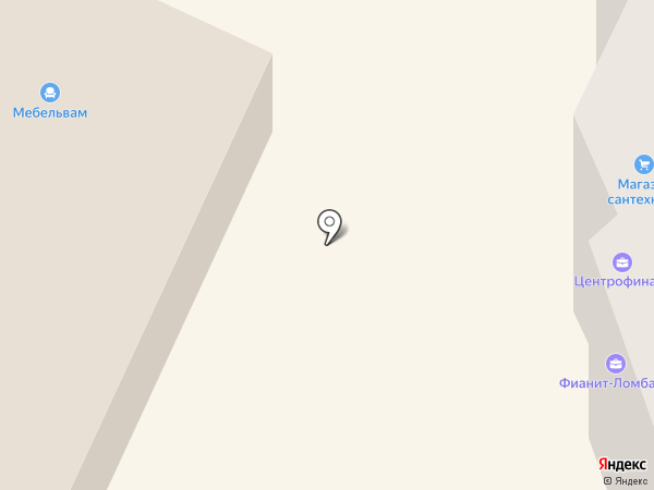 Фианит-Ломбард на карте Бора
