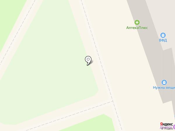 Мирт на карте Бора