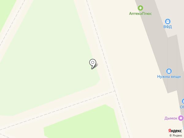 Магазин обоев на карте Бора