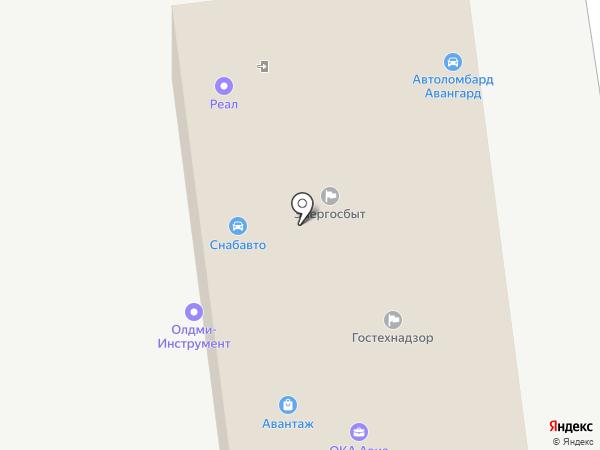 Автосервис на карте Нижнего Новгорода