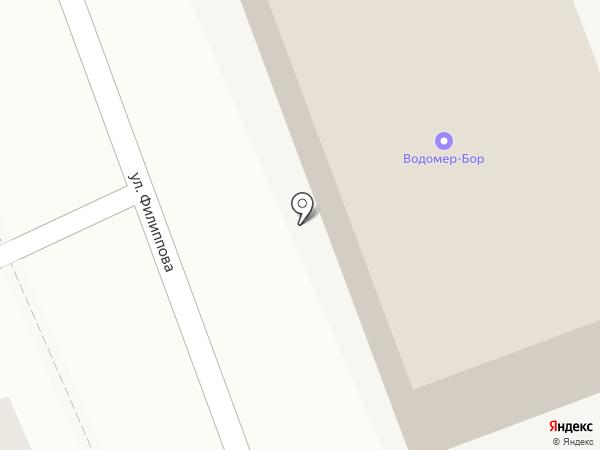 ВодолейСервис на карте Бора