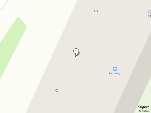 Северный на карте Бора