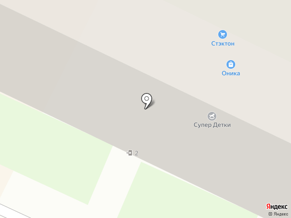 Оника на карте Бора