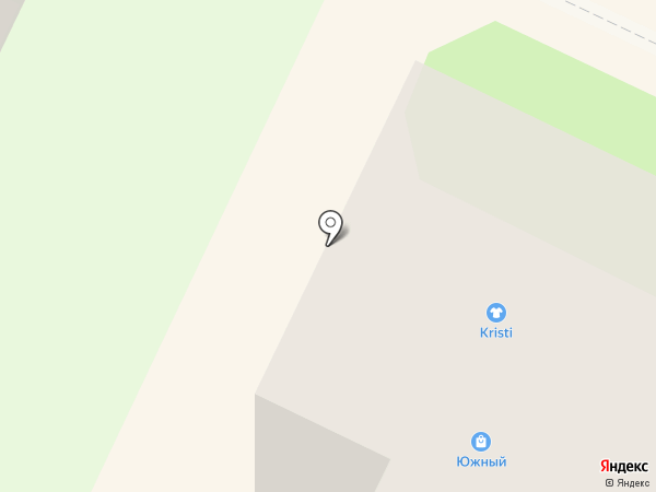 Южный Двор-152 на карте Бора