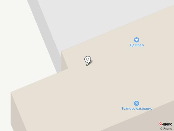 Пром Войлок на карте Бора