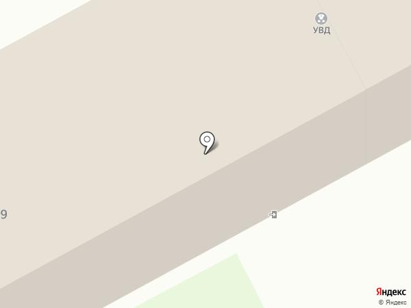 Уголовно-исполнительная инспекция на карте Бора