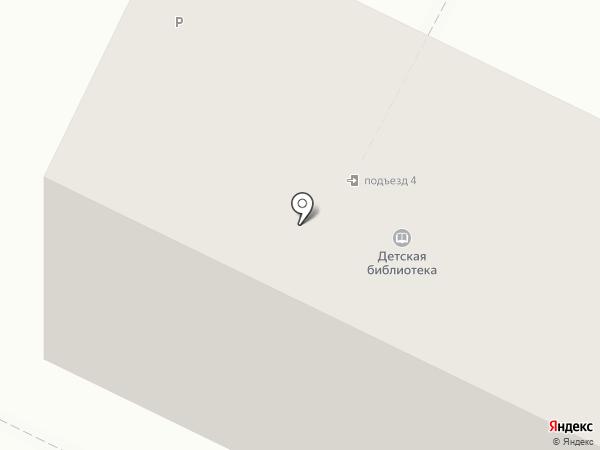 Центральная городская детская библиотека на карте Бора