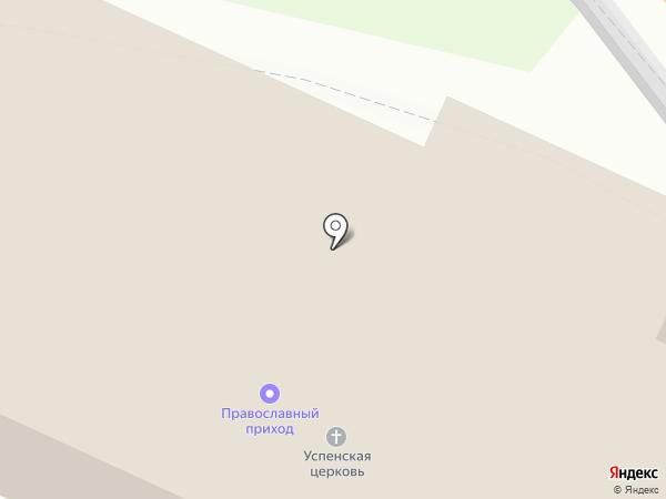 Приход Церкви в честь Успения Пресвятой Богородицы на карте Бора