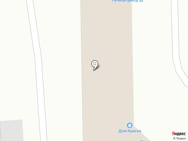 Печник на карте Нижнего Новгорода