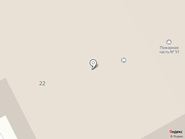 Отдел надзорной деятельности по городскому округу г. Бор, Управление надзорной деятельности на карте Бора