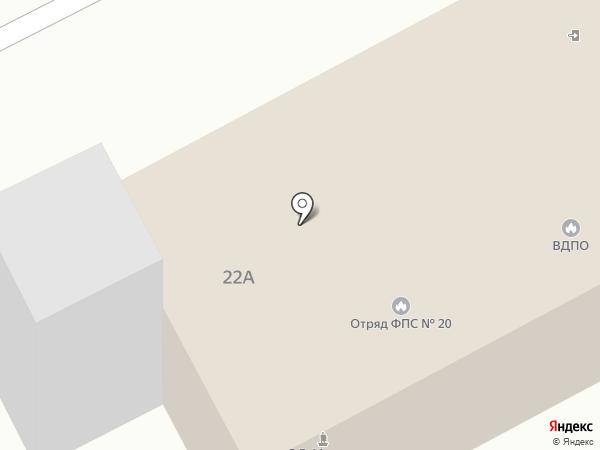 ВДПО на карте Бора