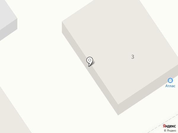 Атлас на карте Бора