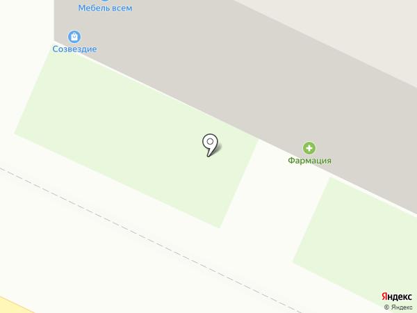 Бор Фармация, ЗАО на карте Бора