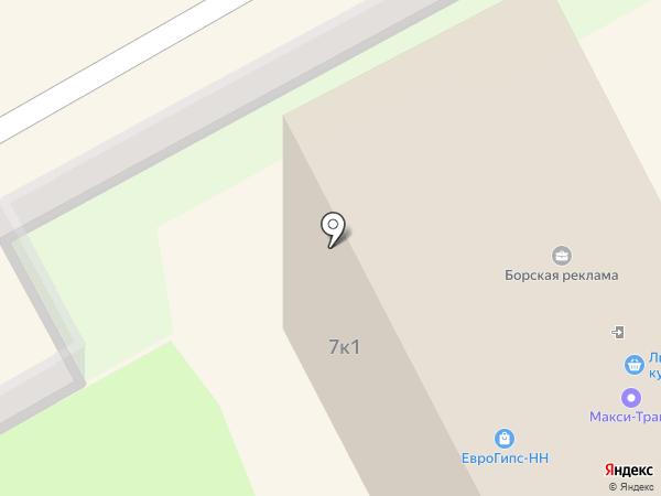 Правильный выбор на карте Бора