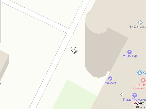 Райдо-Бор на карте Бора