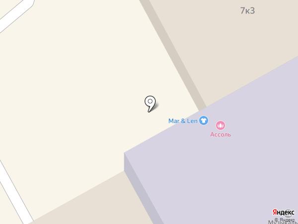 Ассоль на карте Бора