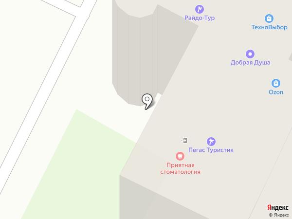 Магазин видеоигр и антенного оборудования на карте Бора