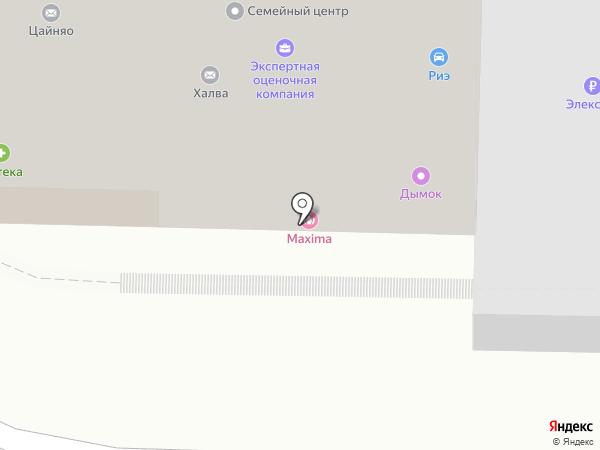 Радуга Здоровья на карте Нижнего Новгорода
