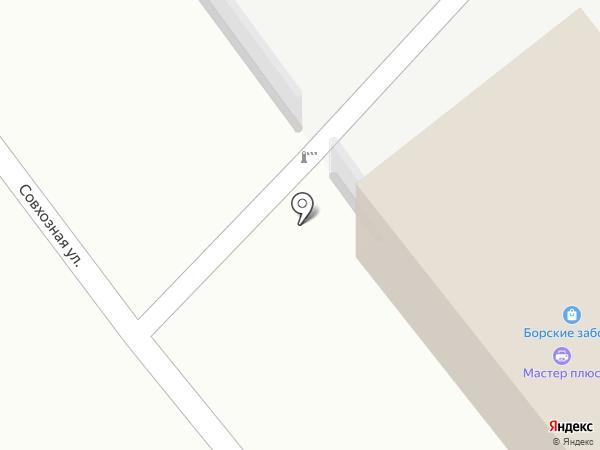 Парикмахерская на карте Бора