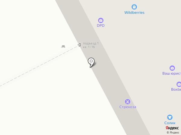 Солик на карте Бора