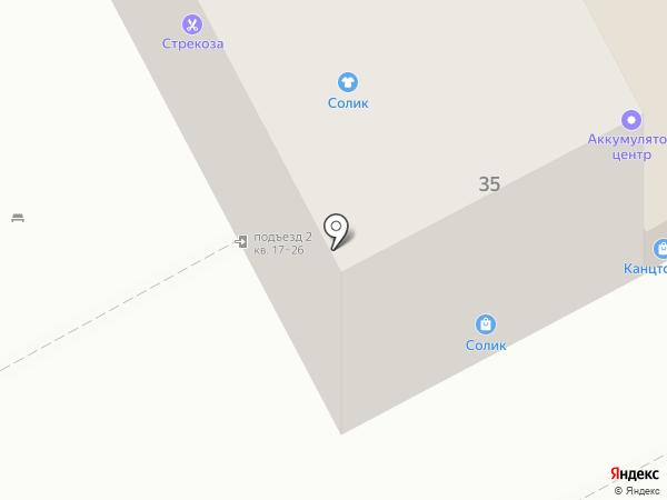 Магазин игрушек на карте Бора