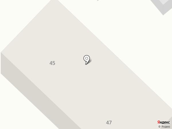 ДАР-строй на карте Бора