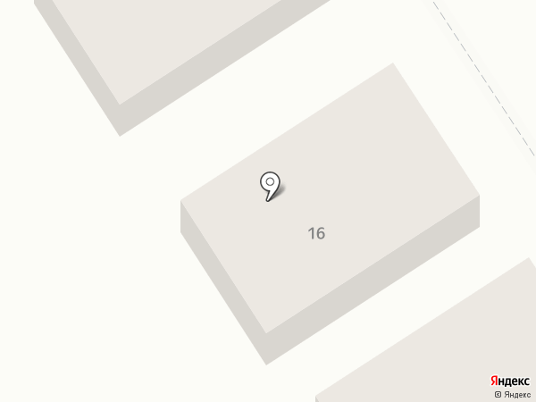 Гостевой дом на карте Бора
